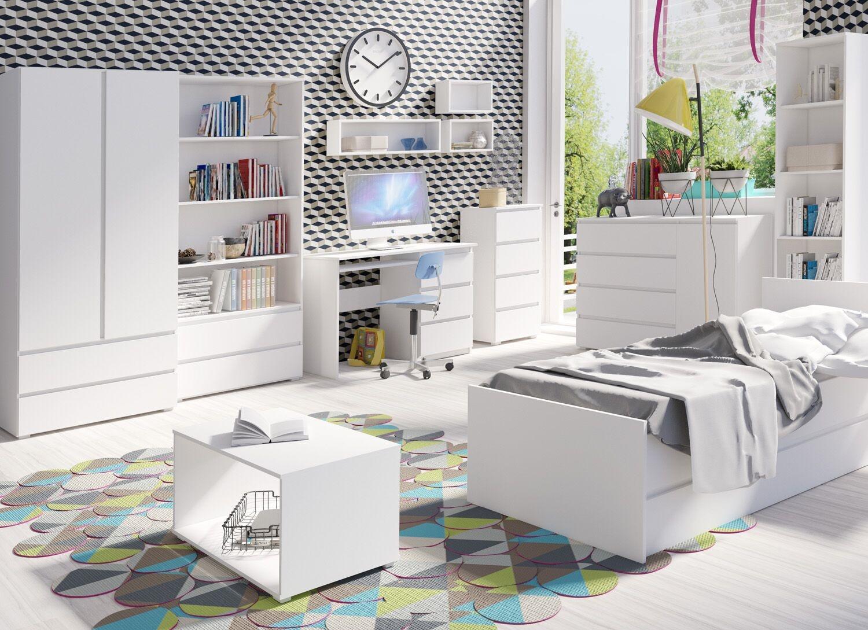 Studentský pokoj Cosmo 3 - bílá | MONTI nábytek
